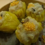 Siu Mai in a steamed basket will polish your chopstick skills as you try to get a hold on these yummy things!