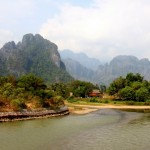 The party may be over, but the scenery is as wonderful as ever in Vang Vieng