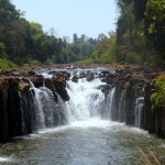 Uttayan Bajiang is a good spot to warm up to the waterfalls on the Bolaven Plateau.