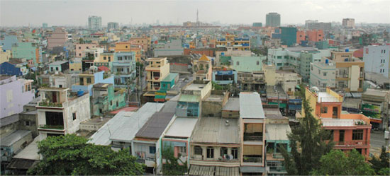 The Ho Chi Minh City skyline. Gorgeous?