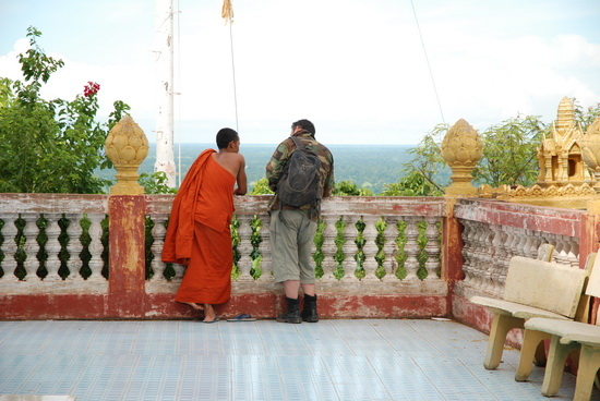 Time out for a monk chat