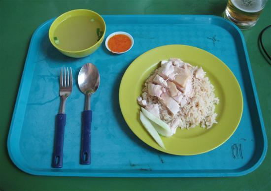 Can't decide what to eat? Chicken rice to the rescue! 
