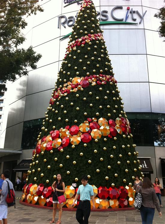 Christmas time in Singapore