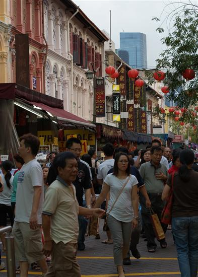Do expect Chinatown to be busier than usual.