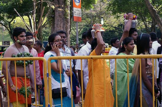 There's more than one way to show your devotion during Thaipusam...