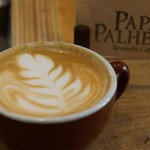 The perfect cuppa - latte art and all!
