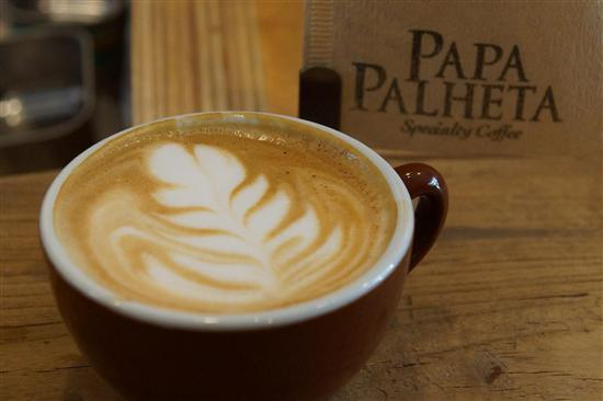 Papa Palheta imports and roasts their own coffee beans.
