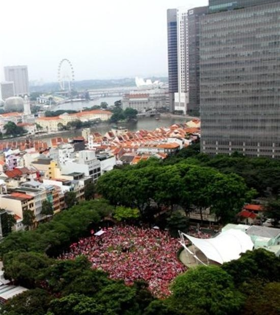 Pink Dot 2011 attracted 10,000 people (image courtesy of Pinkdot.sg)