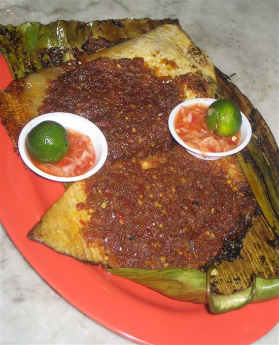 The perfect BBQ stingray is all about the sambal.