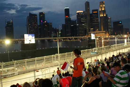 The Singapore Formula One Grand Prix is back for its fifth year.