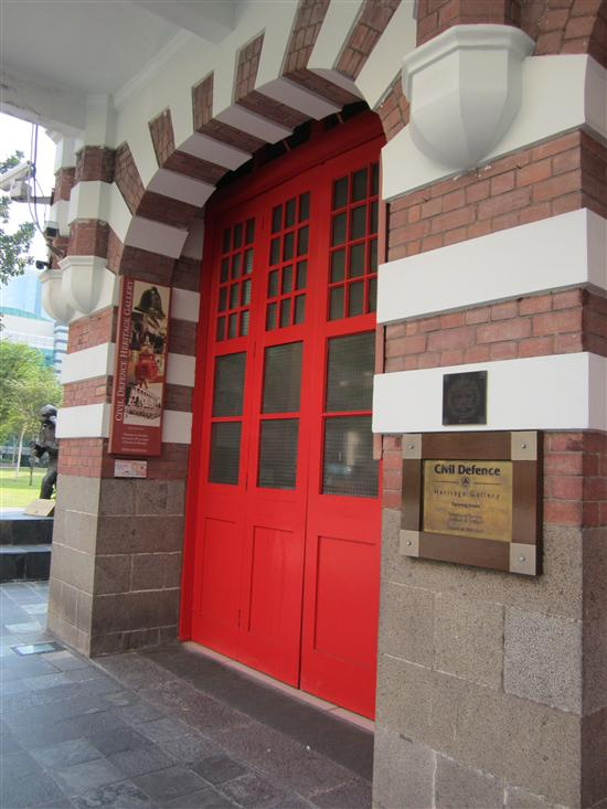 The Civil Defence Heritage Gallery is one of the few freebies in downtown Singapore.