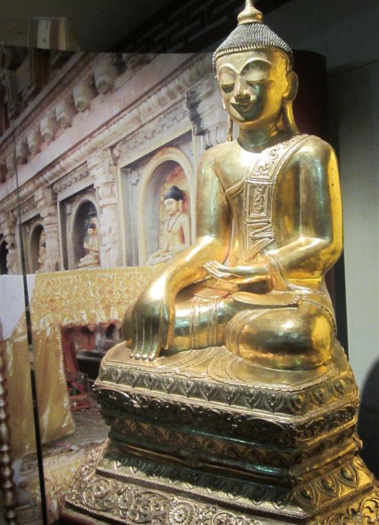 This Buddha would be more at home in Thailand.