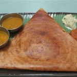 Thosai make a complete meal for a couple dollars.