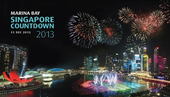 Expect a spectacular fireworks display at Marina Bay (image via www.marinabaycountdown.sg/)