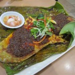 BBQ stingray with lots of chilli - our favourite!