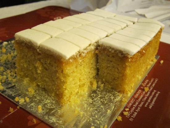 Sugee Cake Icing Recipe
