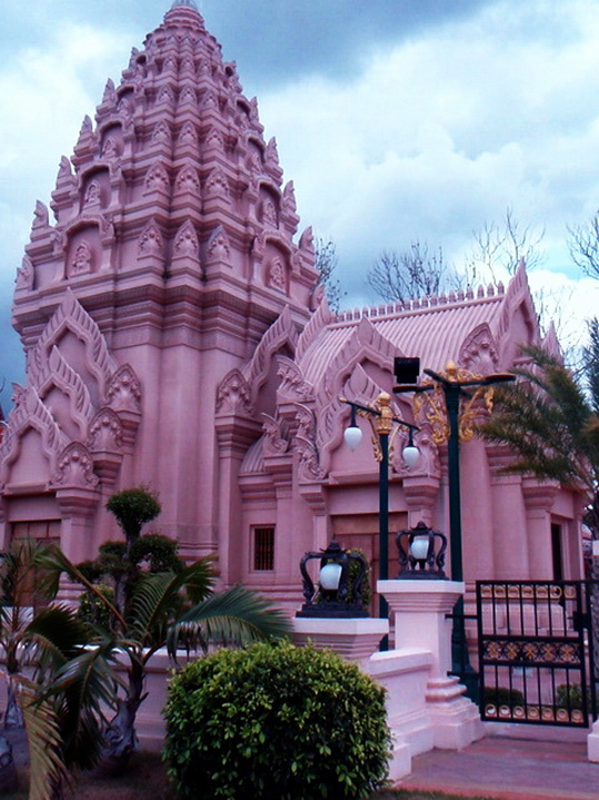 Buriram's City pillar shrine