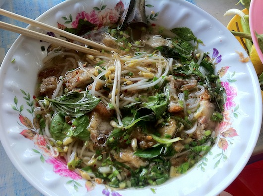I could spend days just eating in Savannakhet.