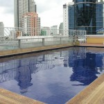 Not the best pool in Bangkok, but it will do after a hot day.