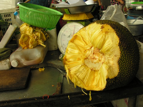 That is one serious jackfruit.