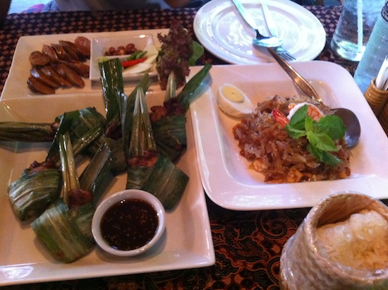 Not your average touristy Thai restaurant fare.