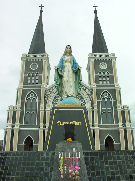The Virgin Mary and Guanyin would make a dynamic duo.