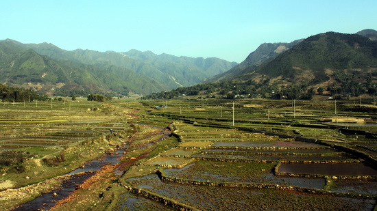 The Dien Bien Phu region, northern Vietnam - one of the starting points of the Tai migration south
