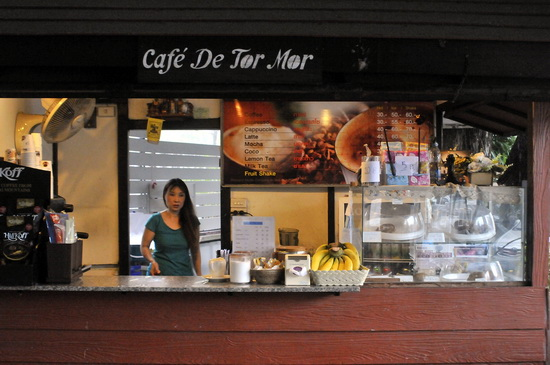 Coffee and pastries - good idea!