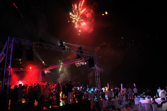 Known to be epic: Catch Beach Club's New Year's Eve party.