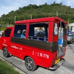 The Phuket tuk-tuk: a modest ride at an opulent price.
