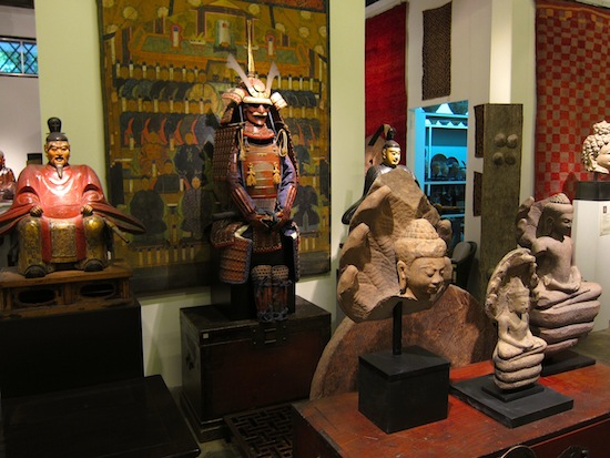 A peek inside 50 Years Gallery off Charoen Krung Road.