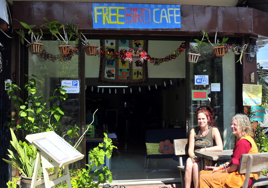 Free Bird Cafe - dreadlocks not compulsory