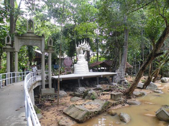 A tranquil temple just outside the main city.