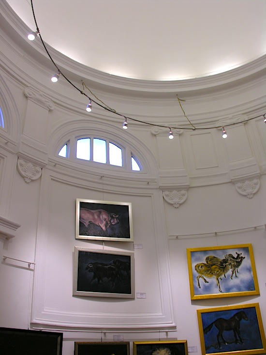 Inside Rotunda.
