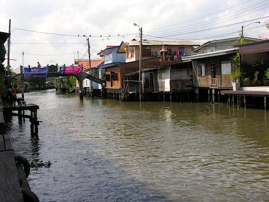 Bangkok Yai Canal -- ancestor of the Chao Phraya.