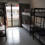 Inside one of the spacious dorms.