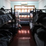 A peek inside the 10-bed dorm.