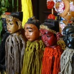 Waiting patiently for your incense offering: Chinese gods at the Shrine of Serene Light.