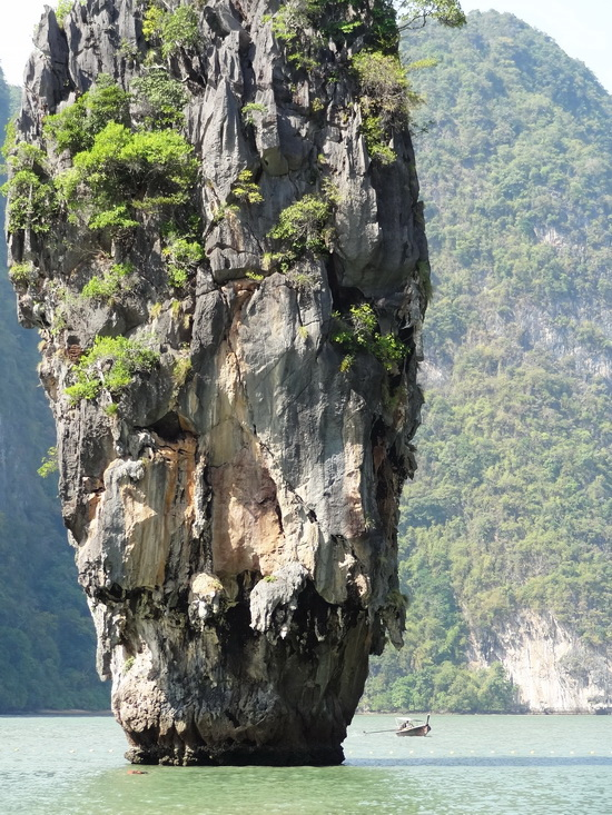 No longer a hideaway: James Bond Island.