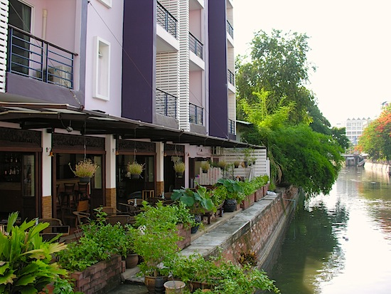 Making the most of Bangkok's canals.