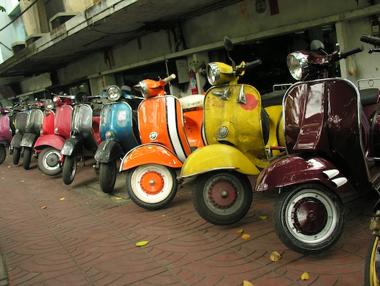 Vespa racing is not one of them.