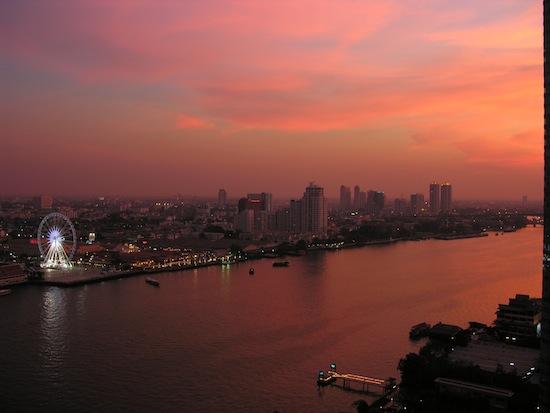 Asiatique's Dutch-made ferris wheel is one of Bangkok's newest landmarks.