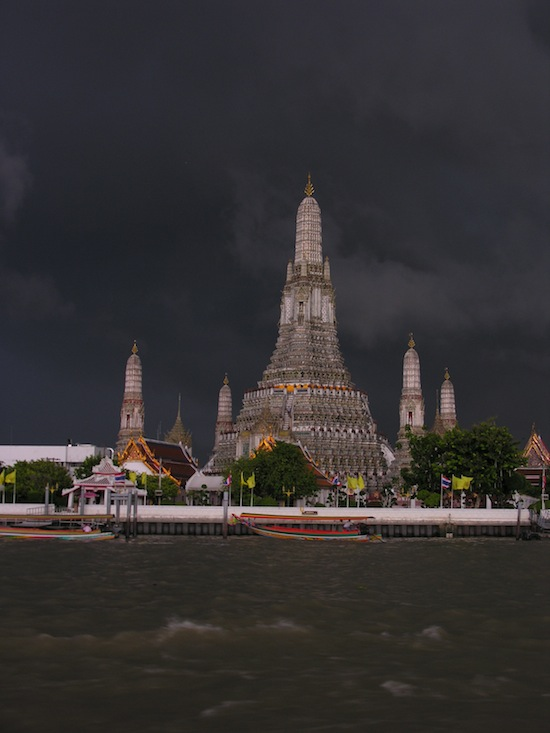 Wat Arun has stood through a few storms in its day.