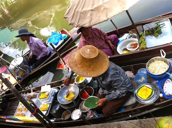 Your Thailand adventure isn't complete without a floating market trip.