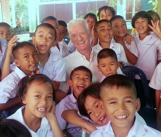 SET founder and director Peter Robinson has helped give thousands of kids more reason to smile.