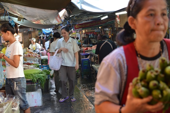 here's nothing like a Bangkok wet market.