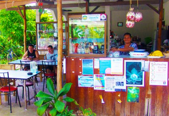 Ko Pha Ngan North Jo & Gais restaurant