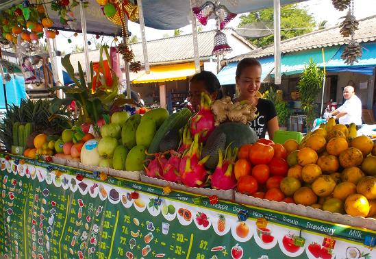 Fruit Stall Ko Pha Ngan