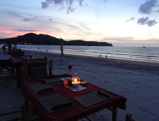 Sunsets and seafood await on Bangtao beach.