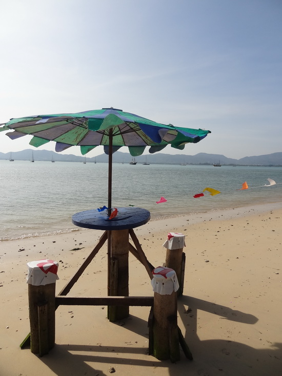 Just add a cold Leo for beach bar perfection: Khao Khad.